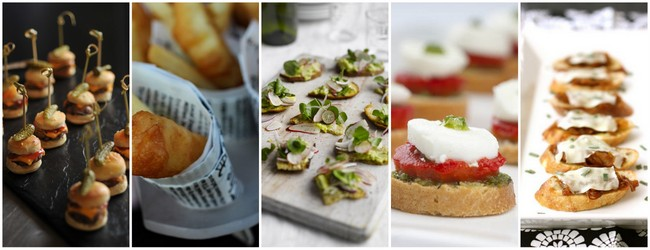 Wedding Food Canape Ideas Traditional South Africa