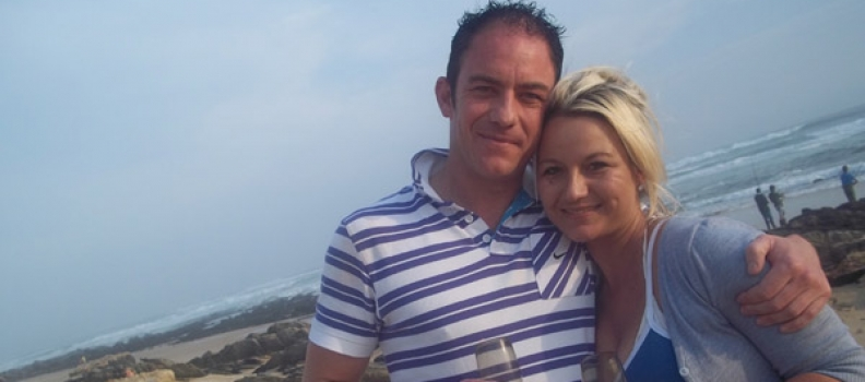 Lynette and Pieter