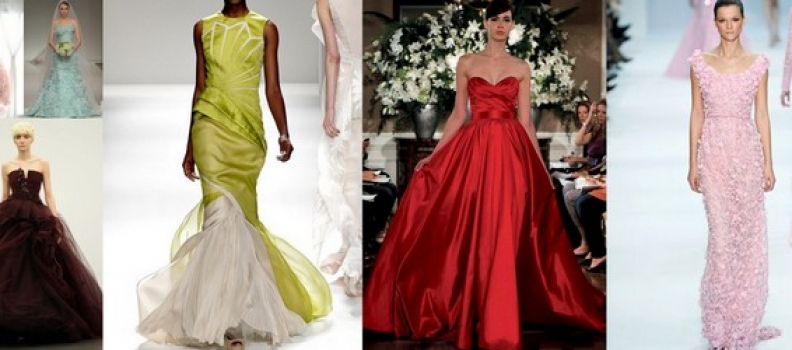 Wedding Dresses – In Many Glorious Colours